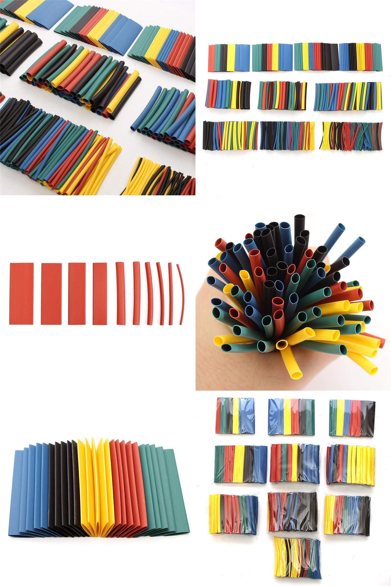 [Visit to Buy] 520Pcs 60mm 21 Polyolefin Heat Shrink