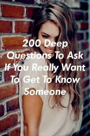Jemanden wirklich kennenlernen