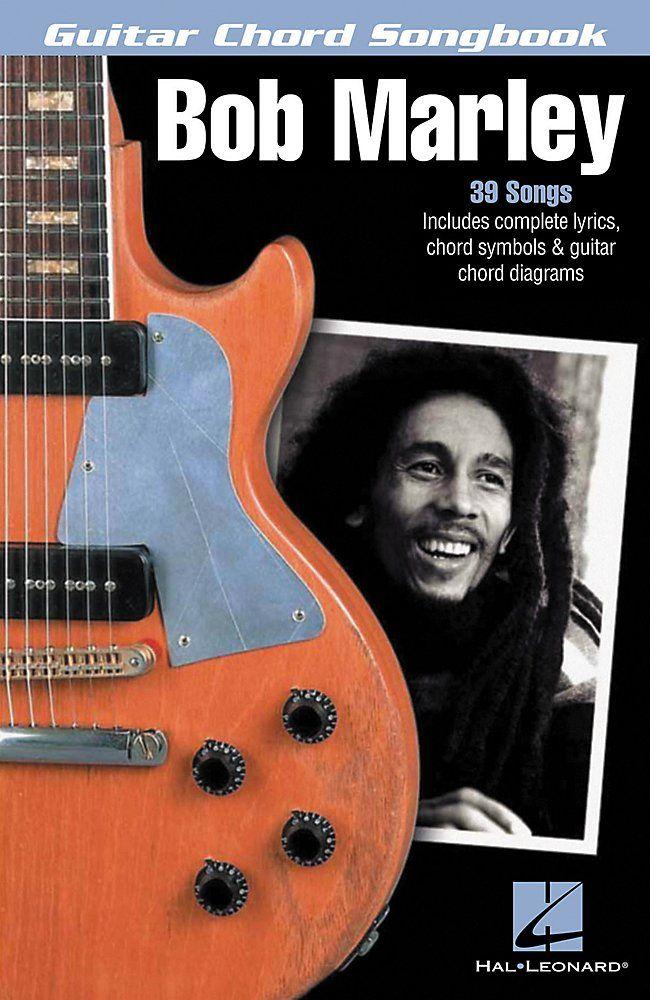 Bob Marley Guitar Chord Songbook By Hal Leonard More Fantastic