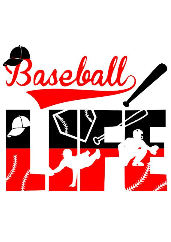 Download Baseball Life file svgpng silhouette by MyNailCreations on ...