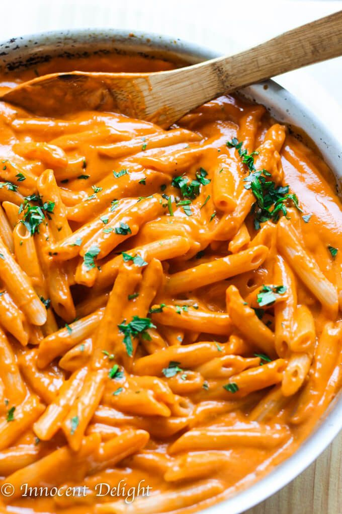 Penne Alla Vecchia Bettola - Pasta in Vodka Sauce - Eating European