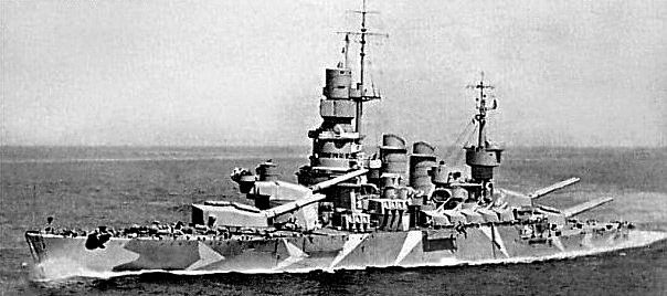 Caio Duiilo Italian Battleship