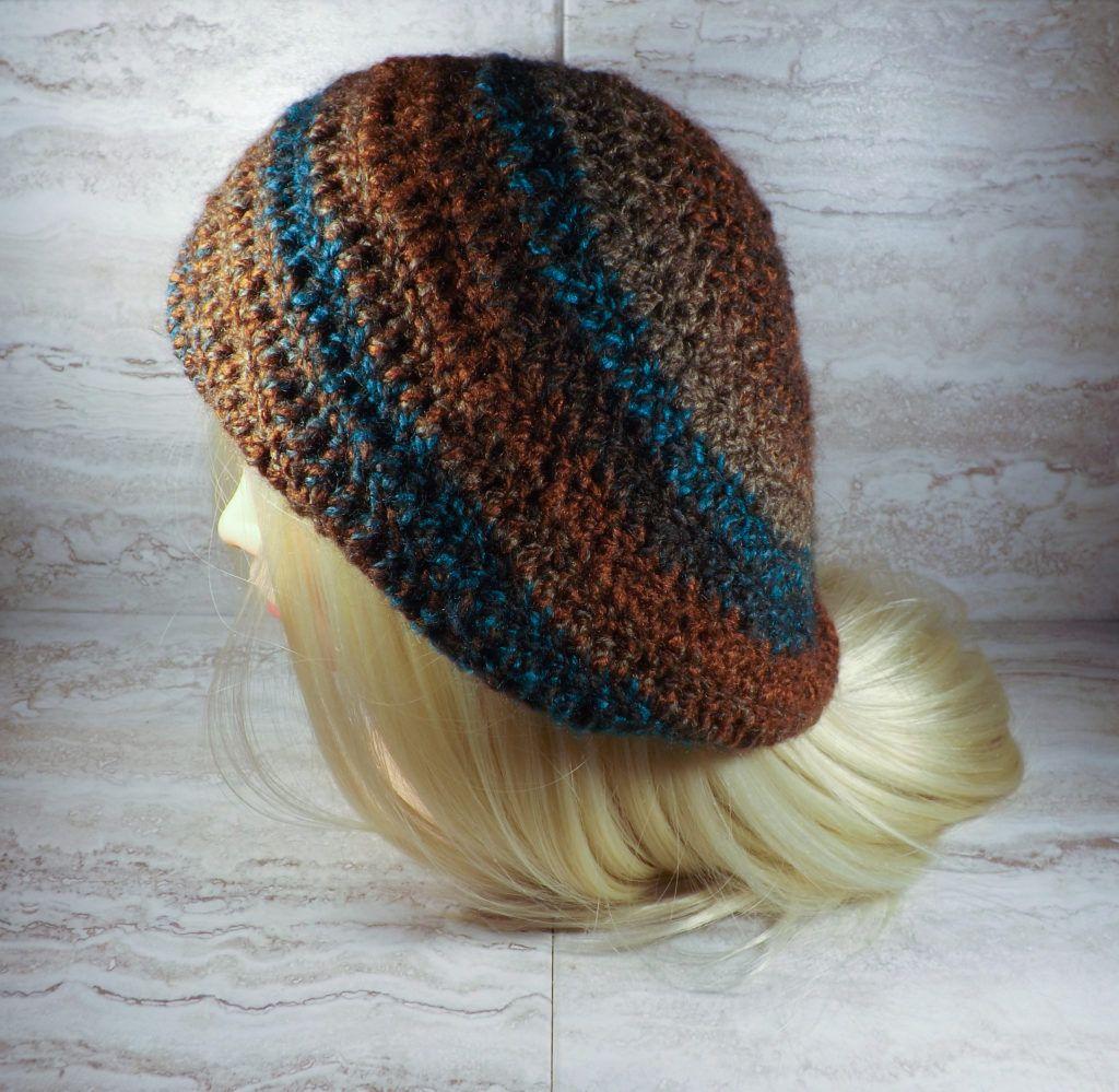 Crochet Slouchy Hat - Free Crochet Pattern