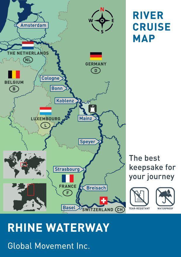 Rhine  Main  Upper Danube Waterways  3Pack  Cruises Rivers