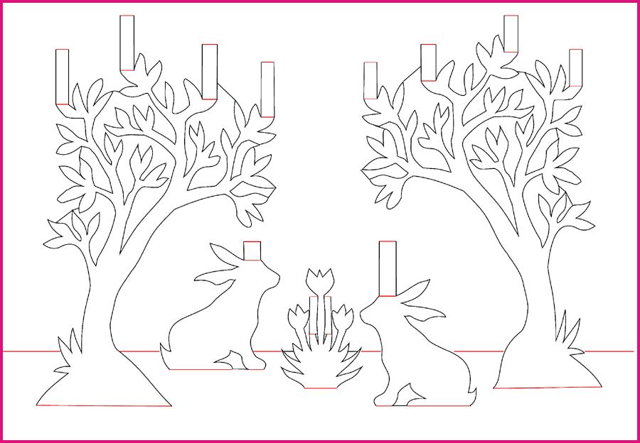Шаблоны к объемным открытками, перевести отсканированные