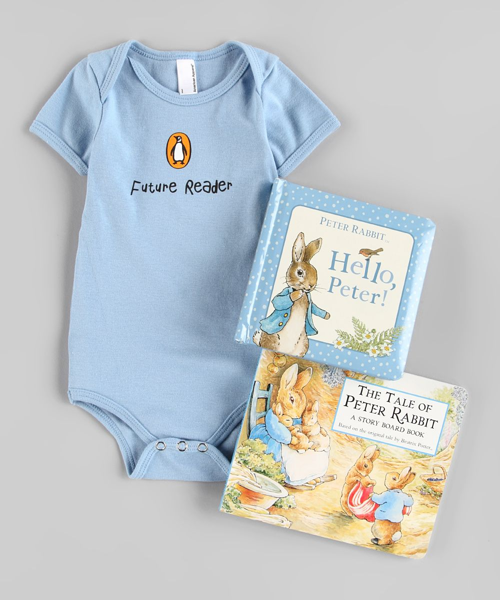 Peter Rabbit Board Book & Bodysuit Set   Daily deals for moms, babies and kids