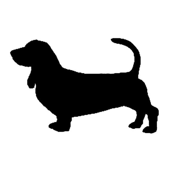 Basset Hound Dog Wall Art Metal Silhouette By Functionalsculpture