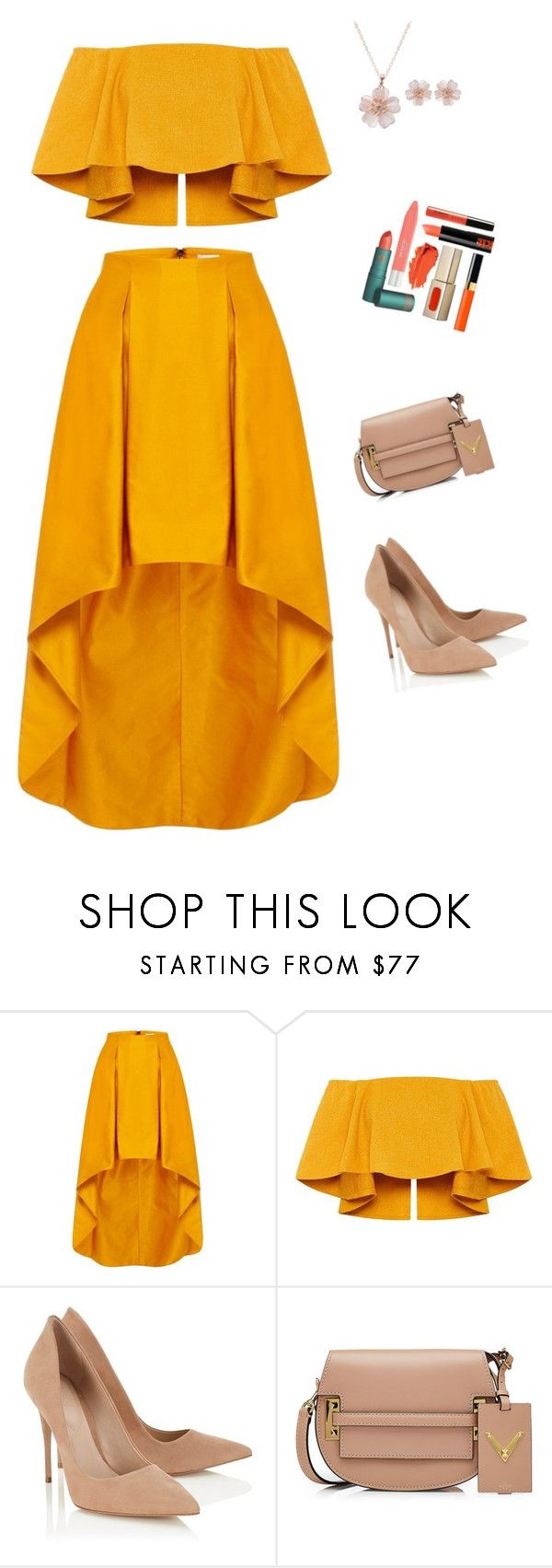 """""""Untitled #445"""" by cool-julija ❤ liked on Polyvore featuring Lipsy and Valentino"""