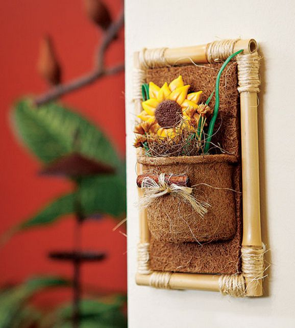 Diy Bamboo Wall Decor Ideas 2 Craft Projects With Bamboo Sticks