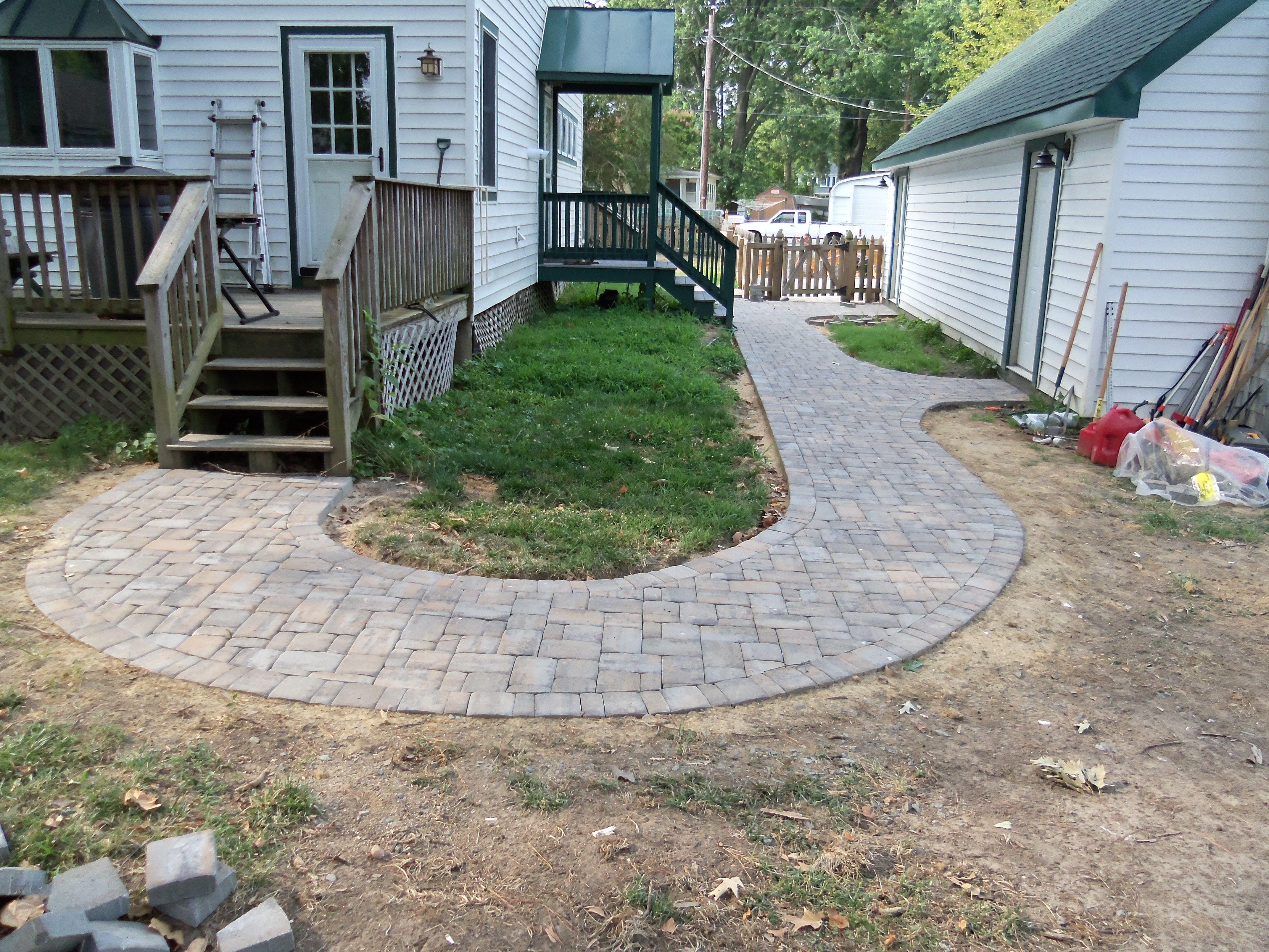 Attirant Brick Paver Walkway Designs | Brick Paver Patios And Walkways