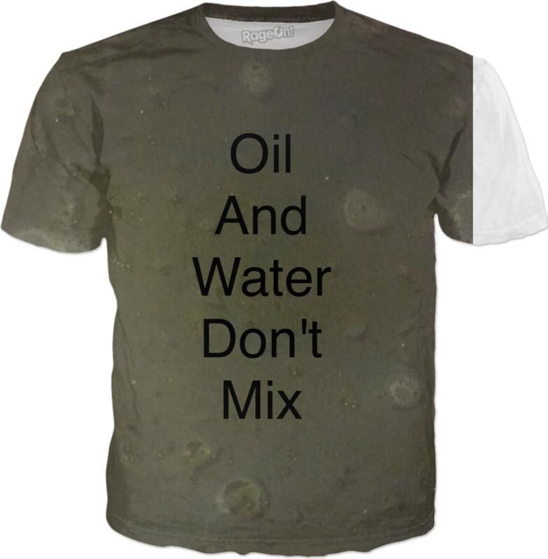 Never mix oil and water #scienceexperiment #oilandwater