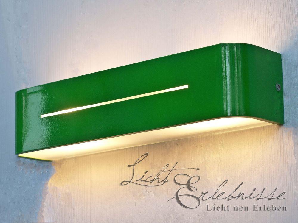 Grüne Wandleuchte Posta modern Wandlampen Wohnzimmerleuchte Lampe ...