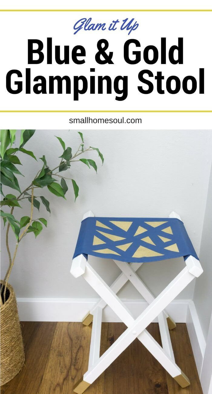 Super Canvas Folding Stool Glam It Up With Gold Best Of Girl Onthecornerstone Fun Painted Chair Ideas Images Onthecornerstoneorg
