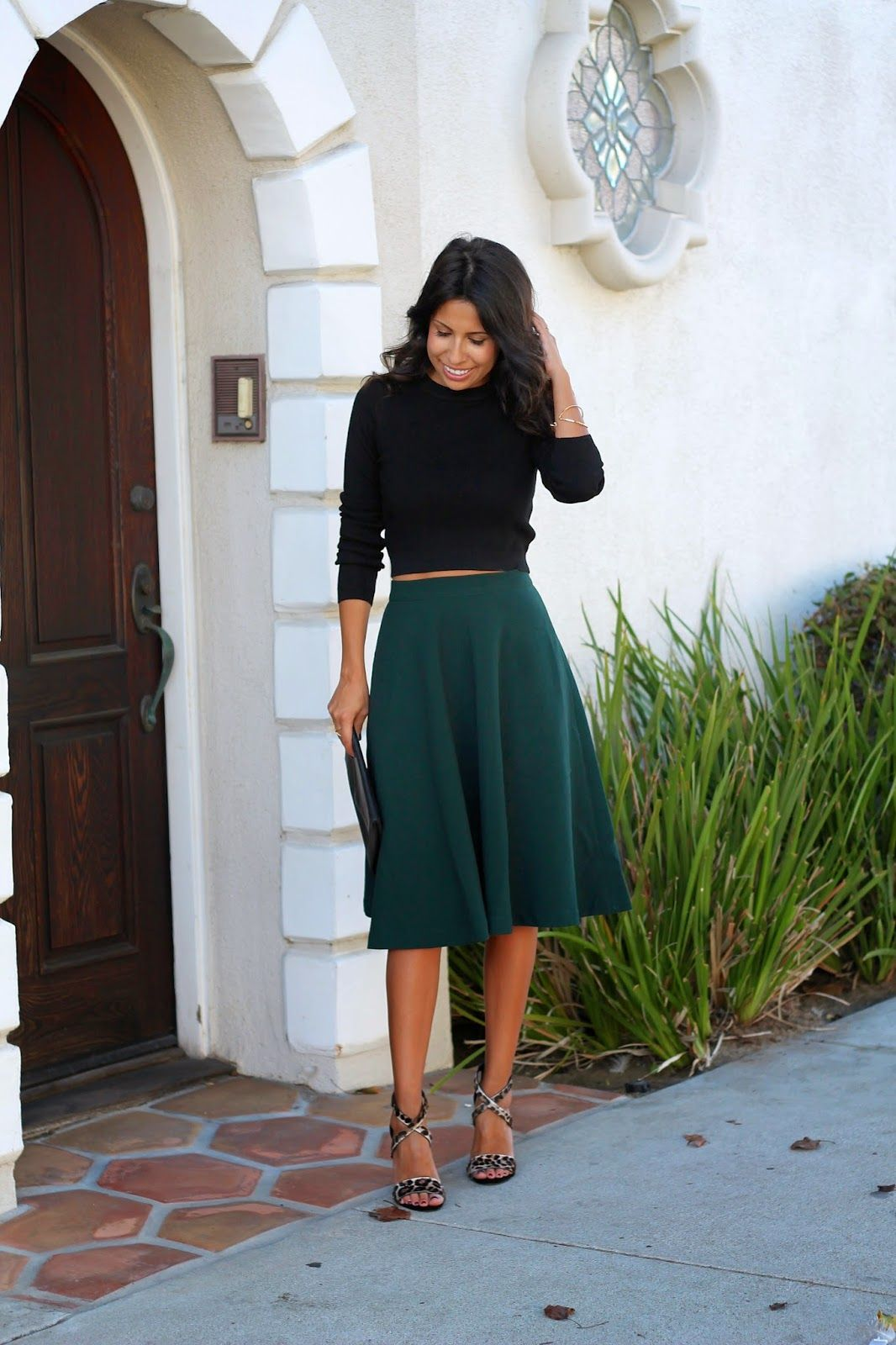 midi skirt outfit how to style midi skirt holiday party
