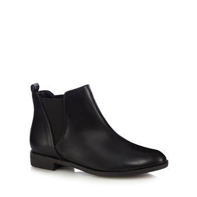 Red Herring Black Chelsea boots | Debenhams