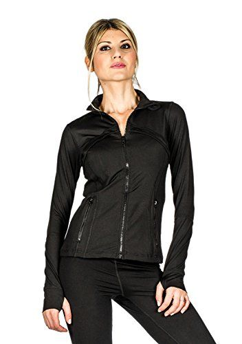 845e0d8c Women's Athletic Jackets - Suko Sport Running jacket for Women Zip Mock  Neck with Thumbhole * Check out this great product. (This is an Amazon  affiliate ...