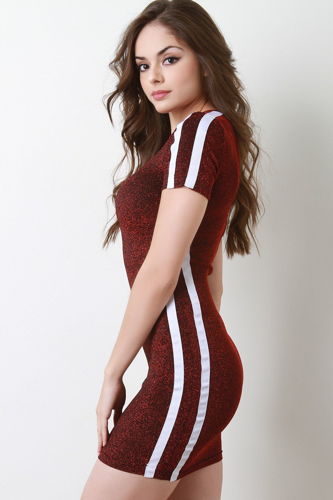 389f2b6667 Just arrived at Gioellia Glitter Knit Stri... Shop here http