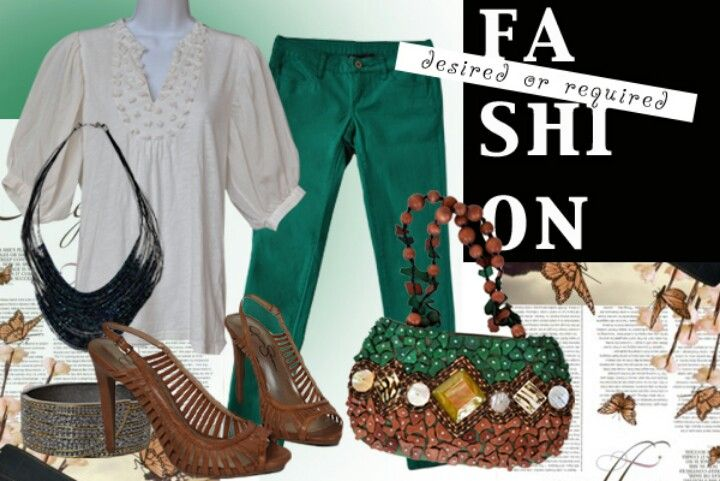 Green with Envy!!! For more great looks check out www.thethriftyprincesses. com
