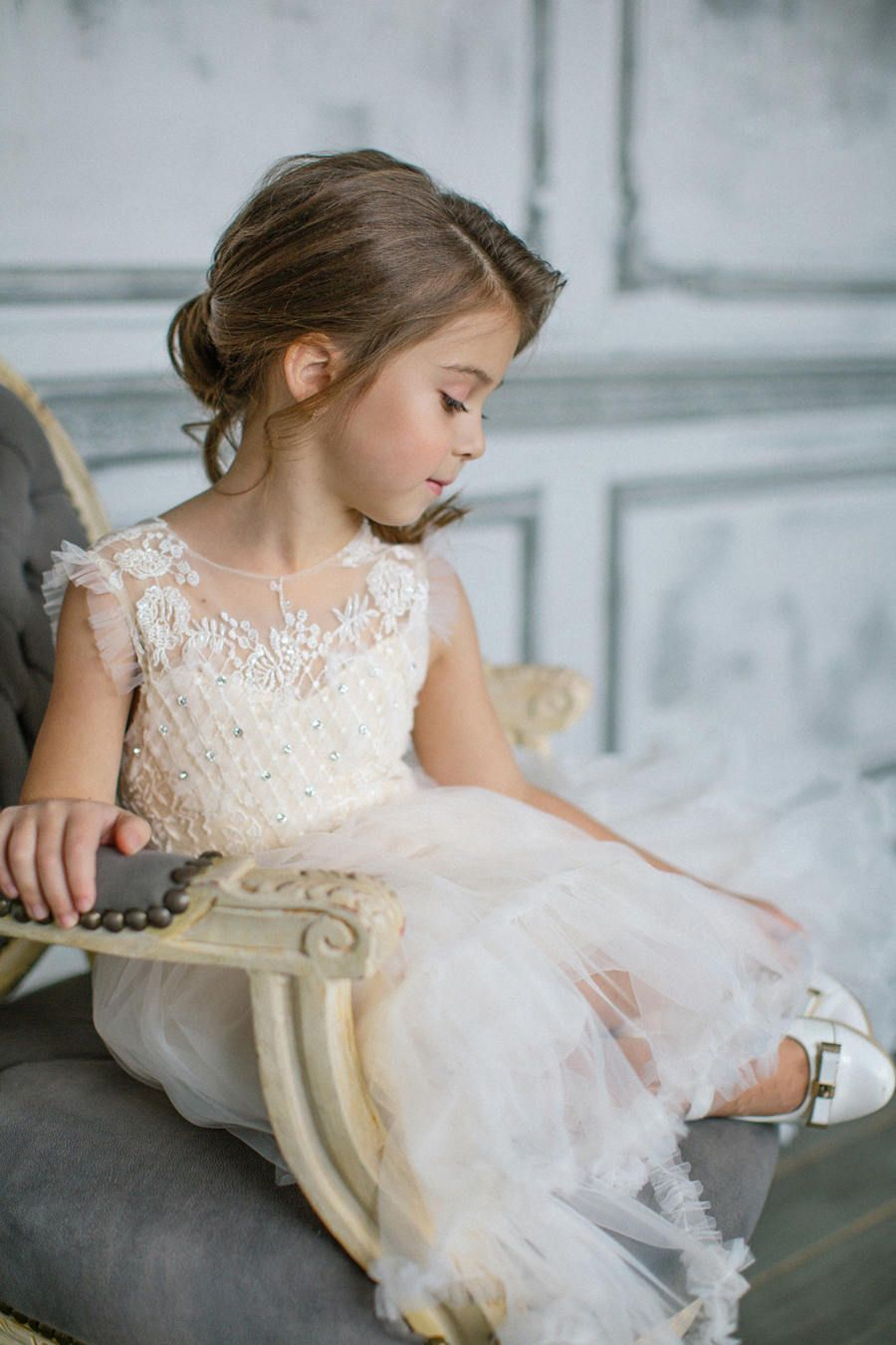 BRIL Flower Girl Dress / First Communion / Special Occasion Dress ...