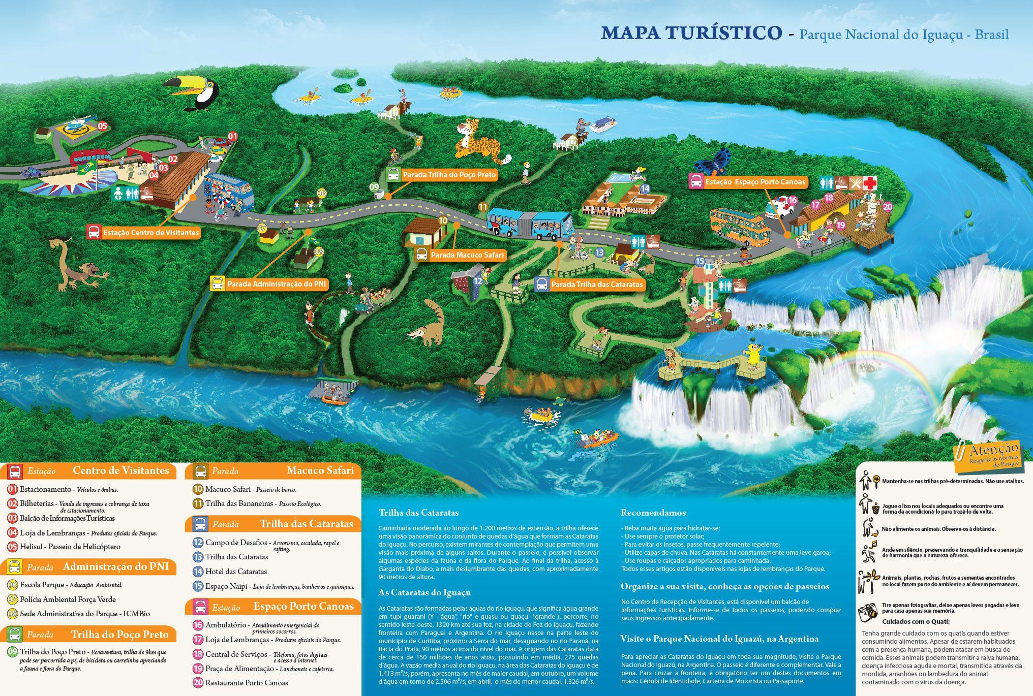 Parque Nacional do Iguau Foz do Iguau Paran Cataratas do