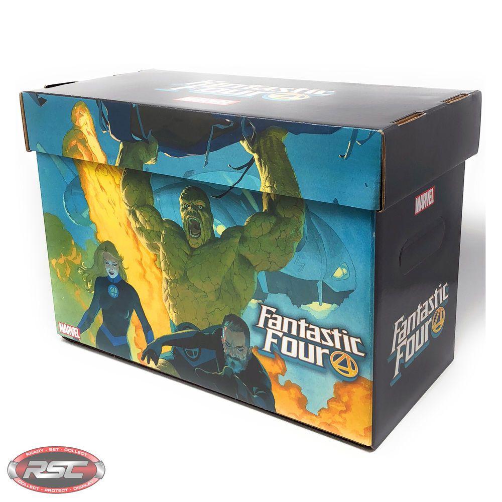 Fantastic Four Short Art Comic Box Official Marvel Comics Licensed 1 Box Provided More Than 100 000 Comic Artwor Comic Art Fans Sale Artwork Comic Storage Box