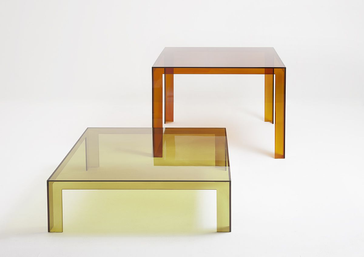 Invisible tables by Tokujin Yoshioka   Recommended for those who can see beyond the appearence