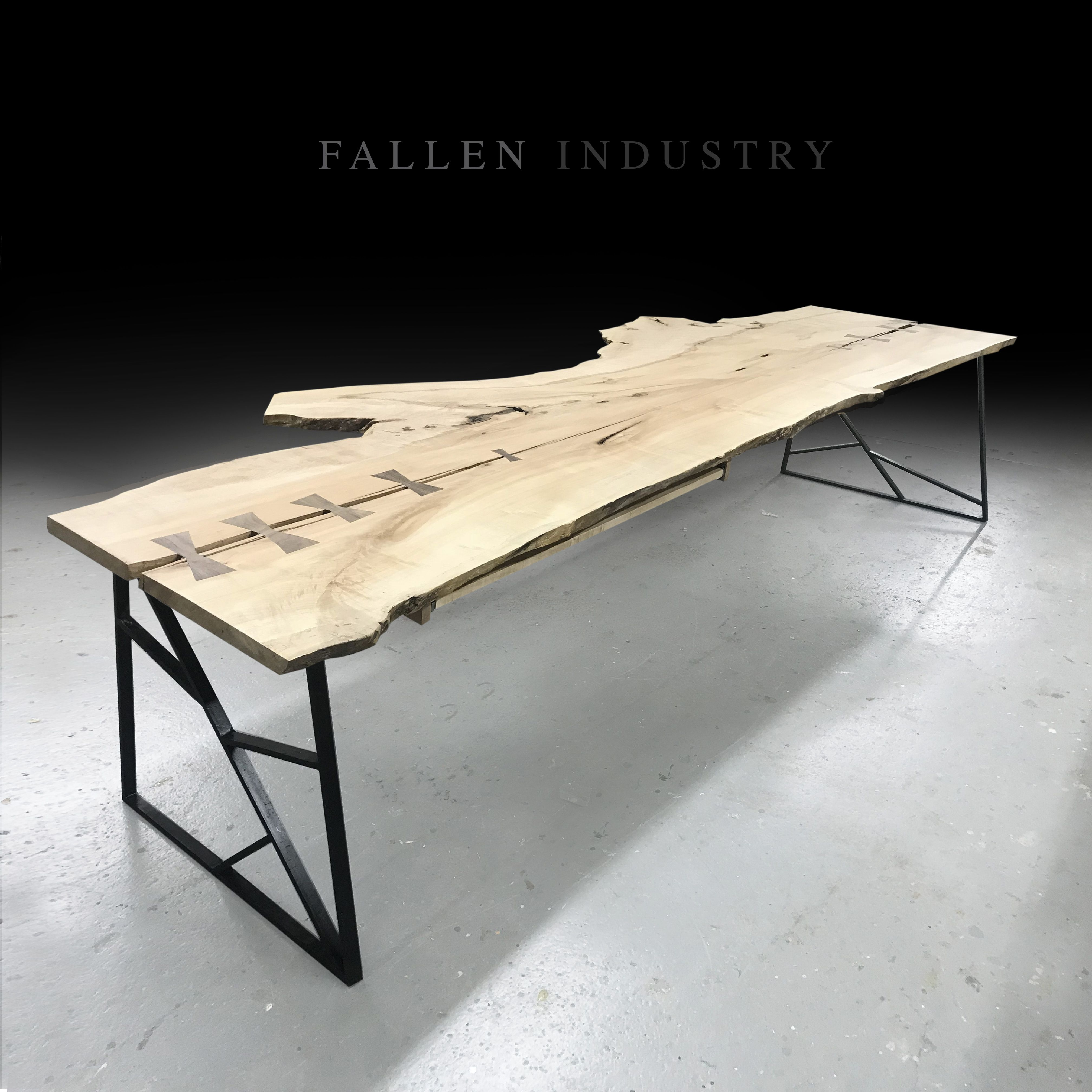 Natural Wood Slab Furniture, Live Edge Tables, Desks And Live Edge Furniture  Wood Slab Tables Made From Fallen Trees And Reclaimed Wood In Brooklyn NYC.