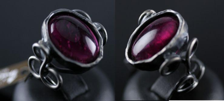 #anello #argento #tormalina