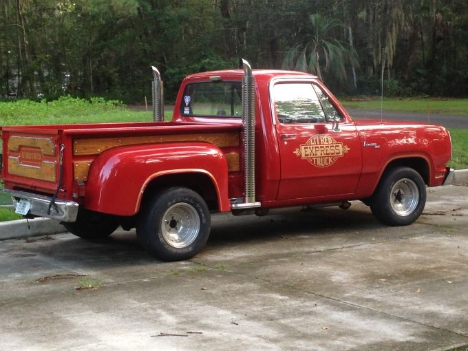 1979 Dodge Lil Red Express Dodge Trucks Dodge Trucks Ram