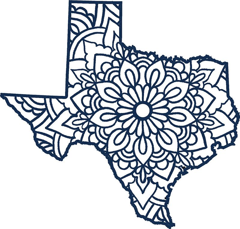 Image result for texas mandala