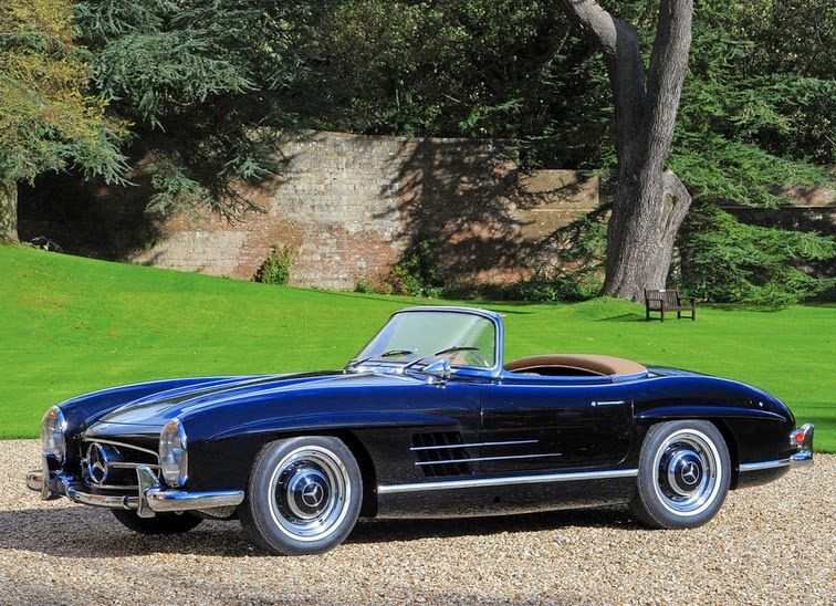 World Of Classic Cars: Mercedes-Benz 300 SL Roadster 1957 – World Of Clas…