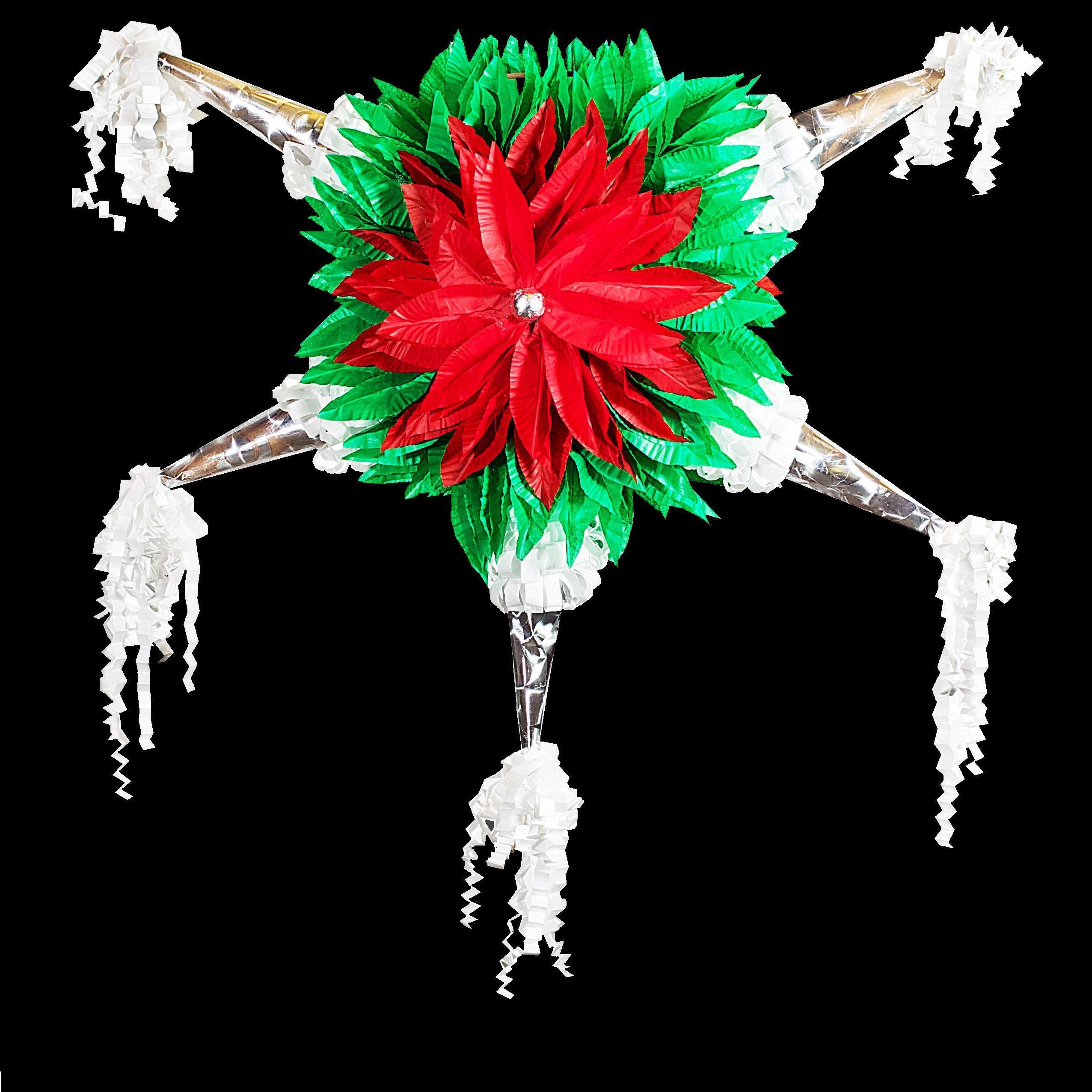 Pinatas La Pinata Navidena 100 Unica Y Hecha A Mano Por Nuestros Artesanos Encuentrala En Www Mymexica Pinatas Tradicionales Pinata De Picos Pinatas Navidad