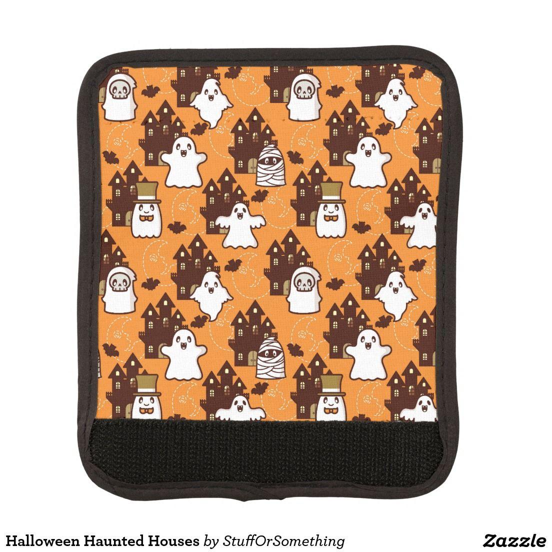 Halloween Haunted Houses Handle Wrap