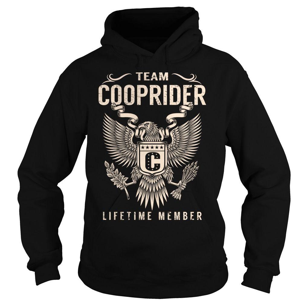 (Tshirt Top Produce) Team COOPRIDER Lifetime Member Last Name Surname T-Shirt Teeshirt this week Hoodies Tees Shirts