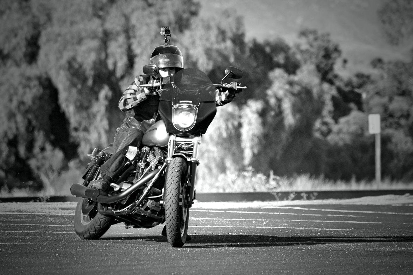 Harley Davidson FXR drift. FXRS, FXRP, FXRT. FTW