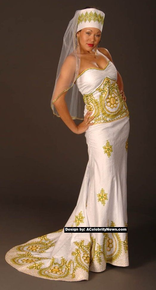 African Traditional Wedding Dresses 2015 2016