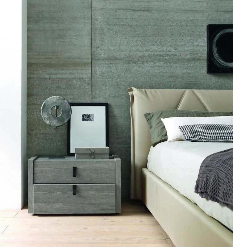 Gorgeous Grey Nightstand Bedroom Furniture