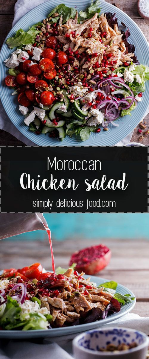 Leftover roast chicken is perfect in this aromatic and delicious leftover roast chicken is perfect in this aromatic and delicious moroccan chicken salad simply forumfinder Choice Image