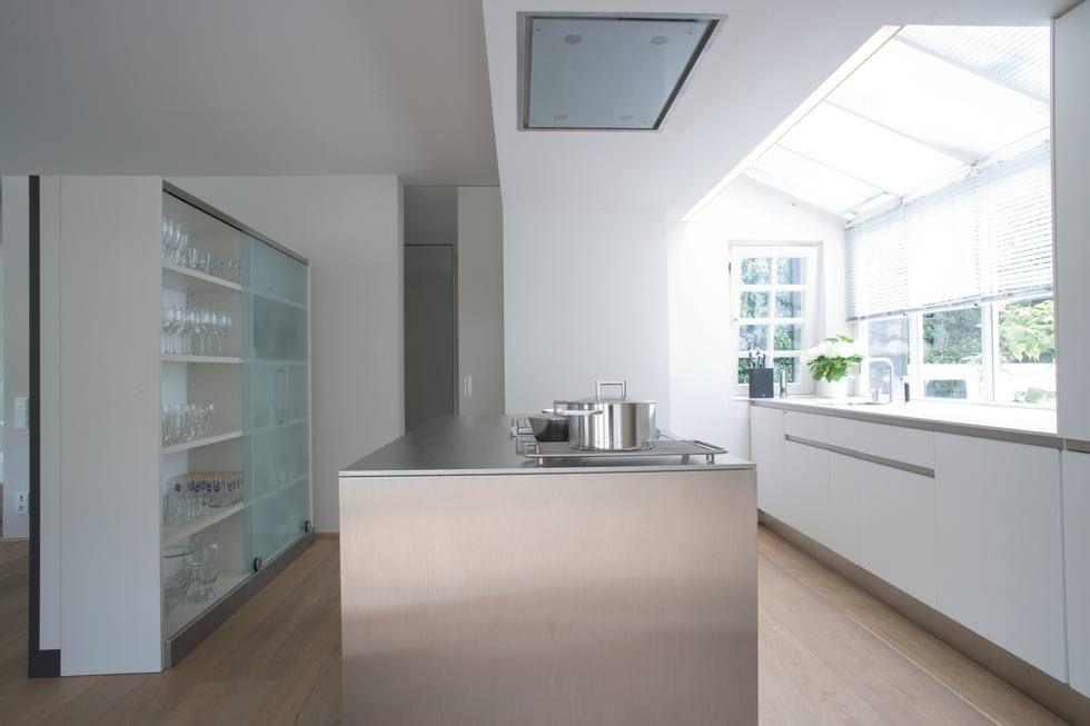 Ideen für die Renovierung 7 moderne Küchen mit Kochinsel als - weiss kche mit kochinsel