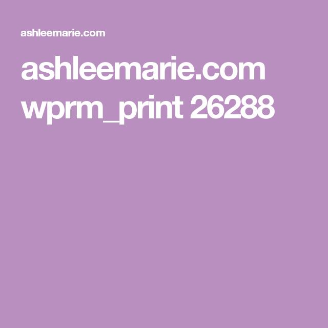 ashleemarie.com wprm_print 26288