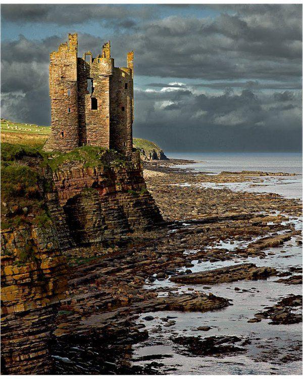 Keiss Castle, Scotland In 2020