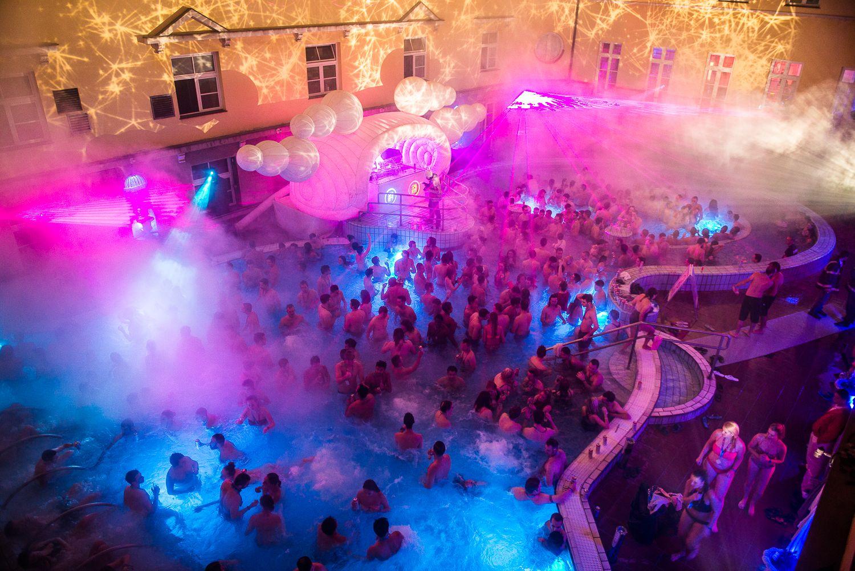 Lukacs Baths Budapest Spa Party Nightlife