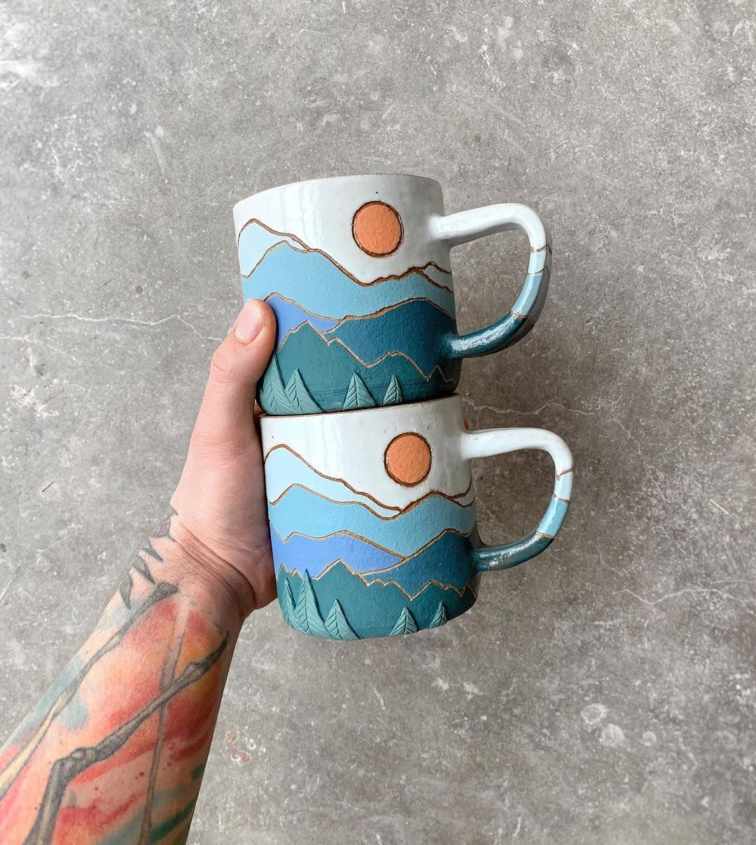 "CALLAHAN ceramics on Instagram: ""Say hello to the newest colorway in the PEAKS series!"