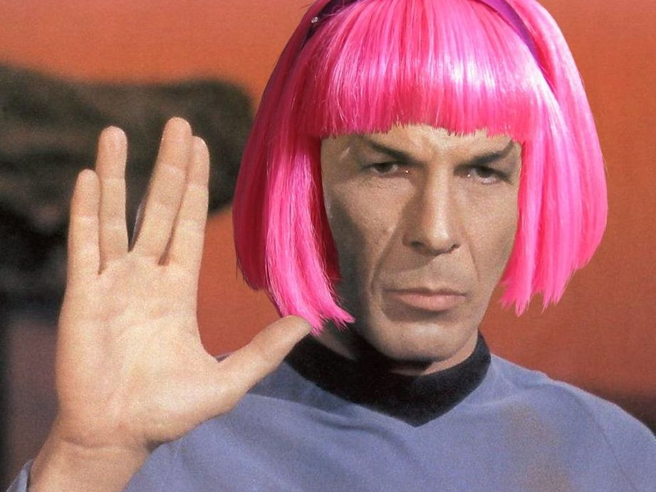 spock-pink-hair.jpg (921×691)   welcome to my board   Pinterest ...