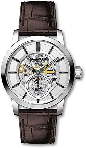 Stuhrling Original Men's Mechanical Skeleton Dress Watch