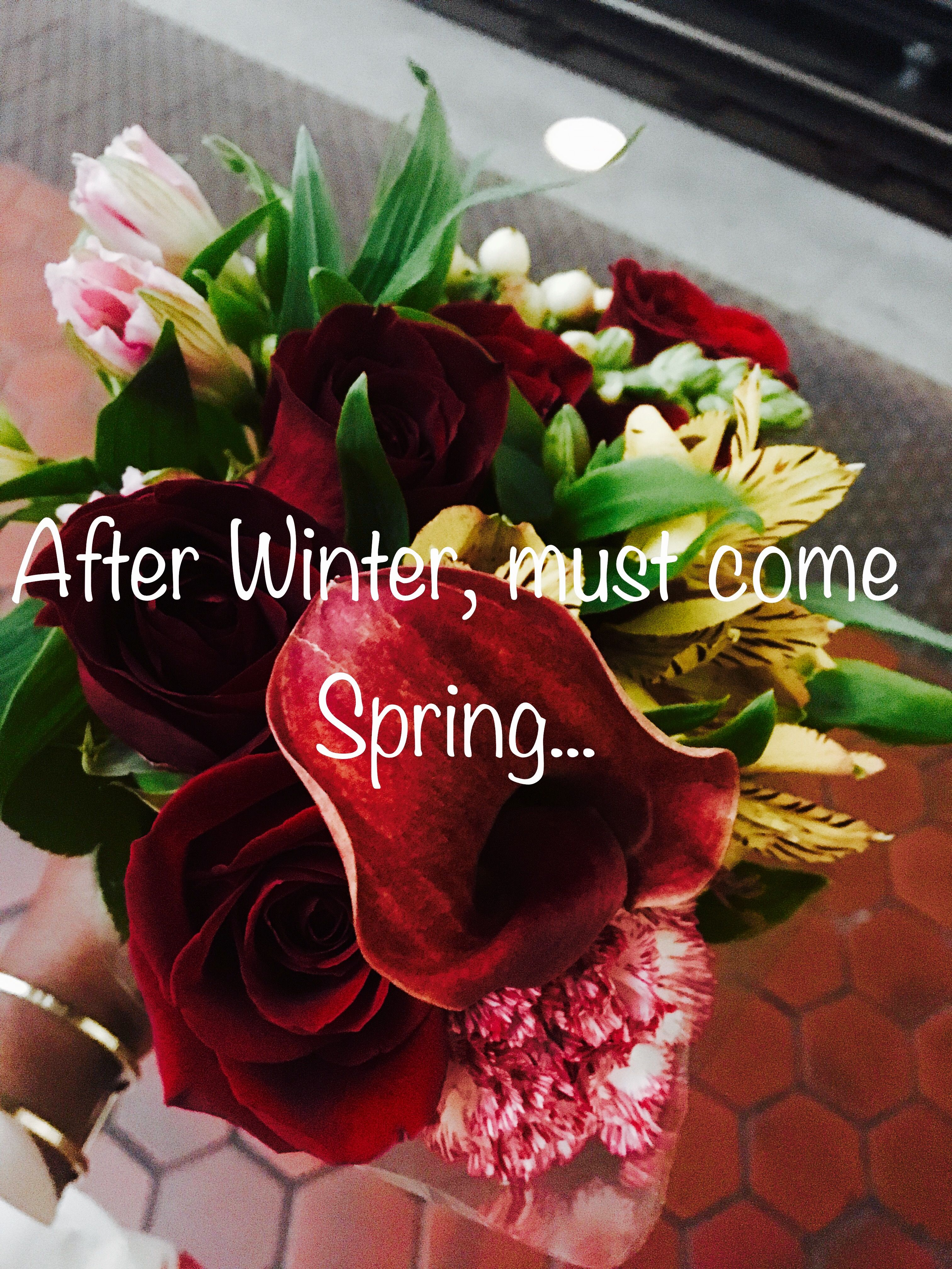 Lovely | Flower quotes, Bouquet, Spring