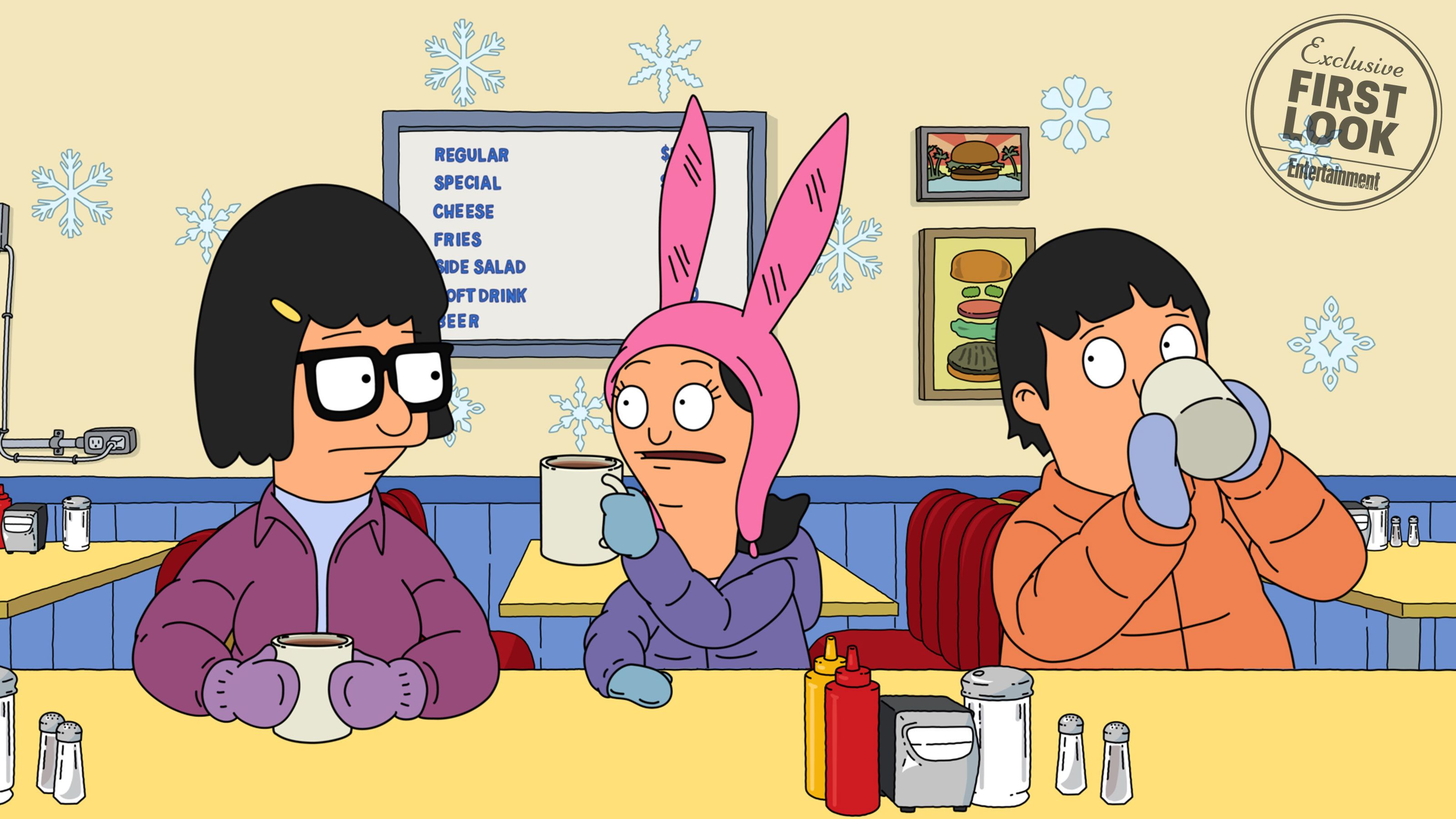 Bobs Burgers Christmas Episodes.A Winter War Is Coming To Bob S Burgers Take A Peek