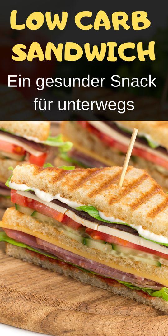 Low carb Sandwich - Sehr einfach, kalorienarm und super lecker