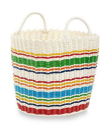 Little Bird Woven Plastic Basket. Baby Boy NurseriesStorage BasketsLittle  ...