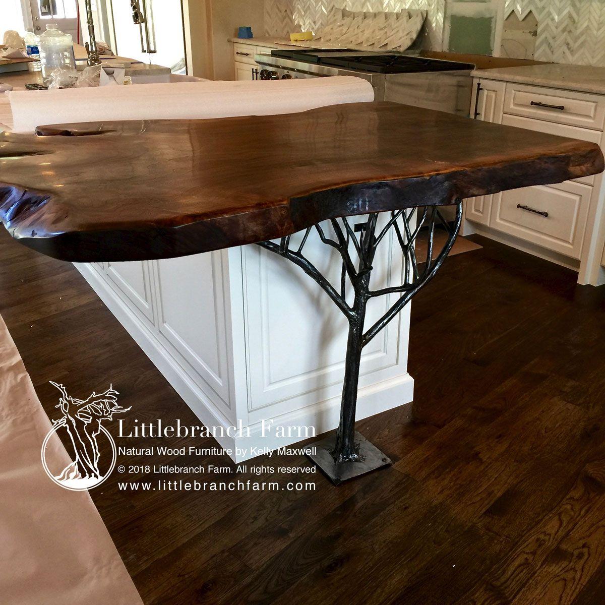 Natural Wood Countertops Live Edge Wood Slabs Littlebranch Farm Wood Countertops Natural Wood Furniture Wood Slab